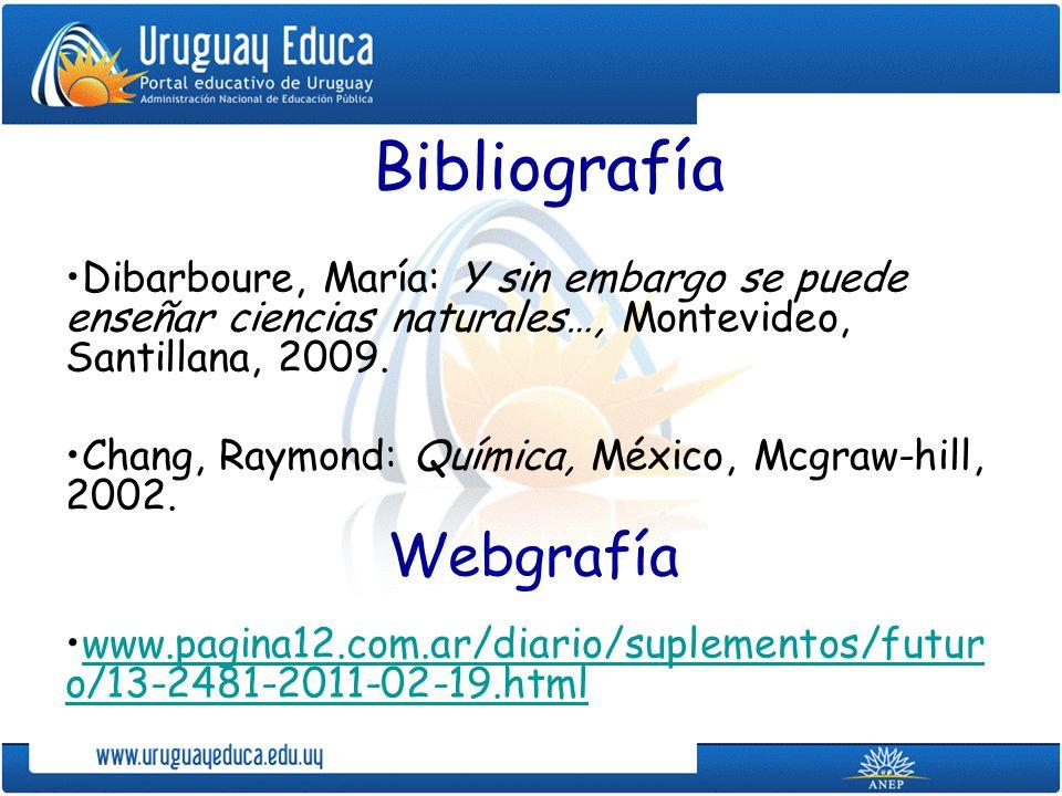 Bibliografía Webgrafía
