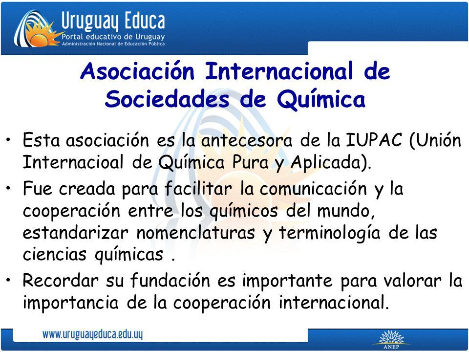 Asociación Internacional de Sociedades de Química