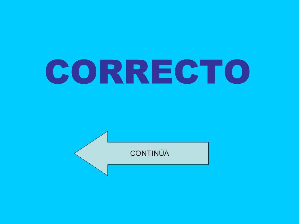CORRECTO CONTINÚA