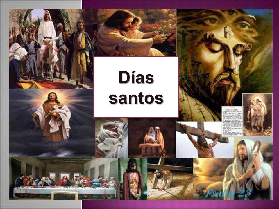 Días santos
