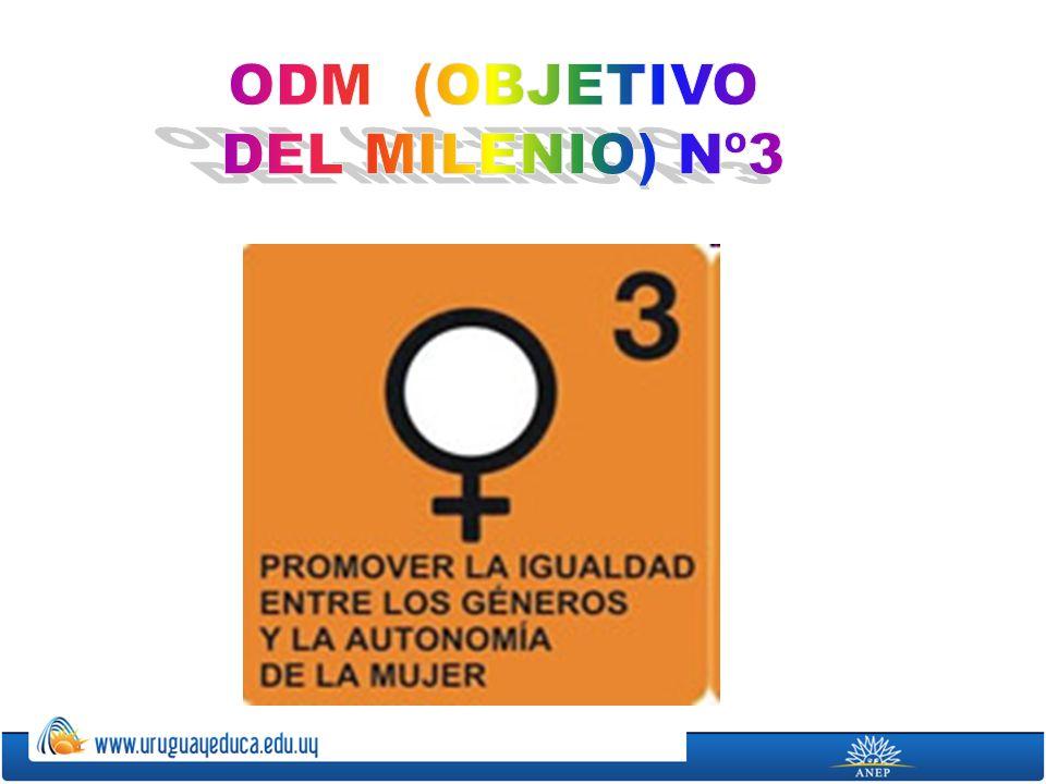 ODM (OBJETIVO DEL MILENIO) Nº3