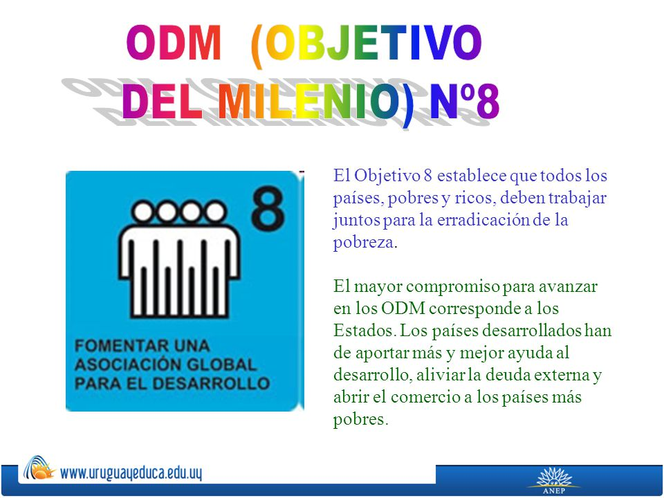 ODM (OBJETIVO DEL MILENIO) Nº8