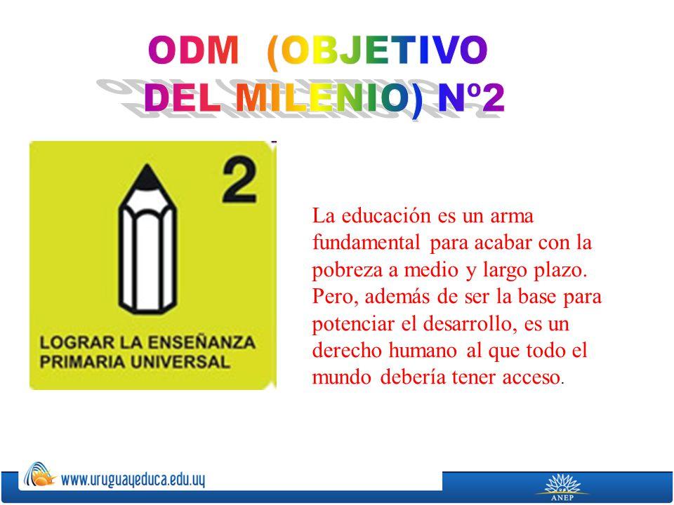 ODM (OBJETIVO DEL MILENIO) Nº2