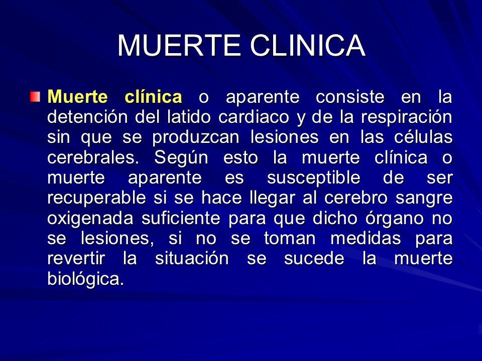 MUERTE CLINICA