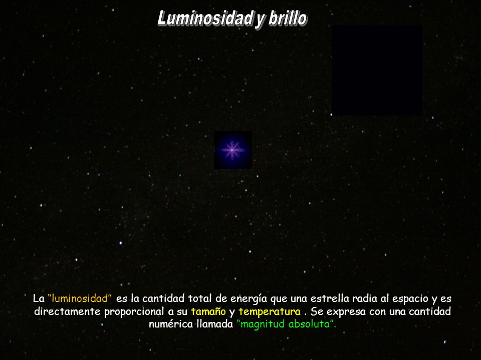 Luminosidad y brillo