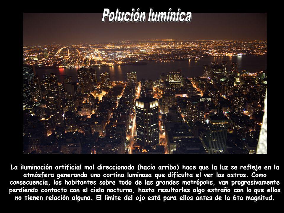 Polución lumínica