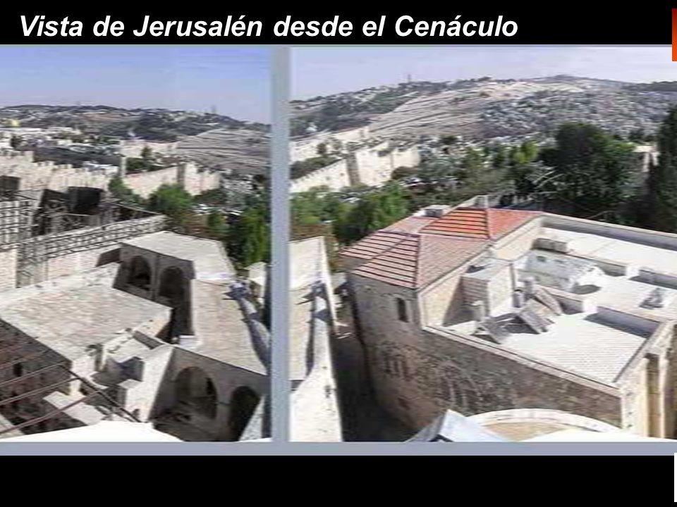 Vista de Jerusalén desde el Cenáculo