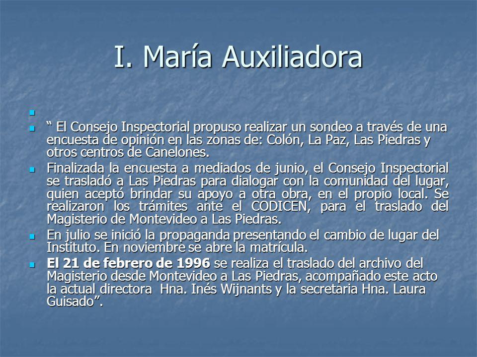 I. María Auxiliadora