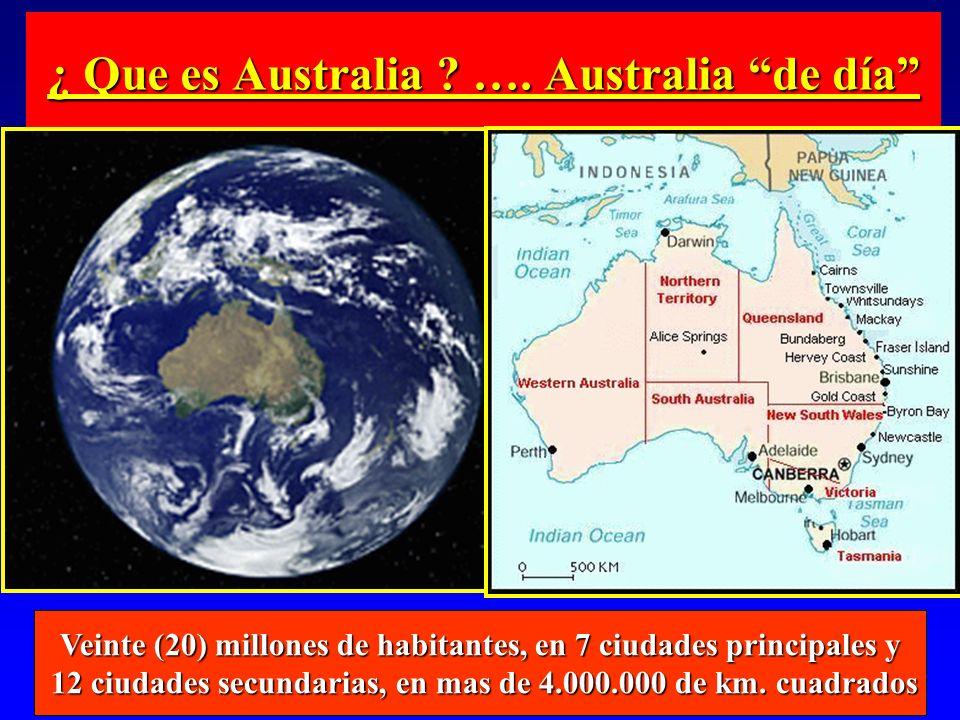 ¿ Que es Australia …. Australia de día