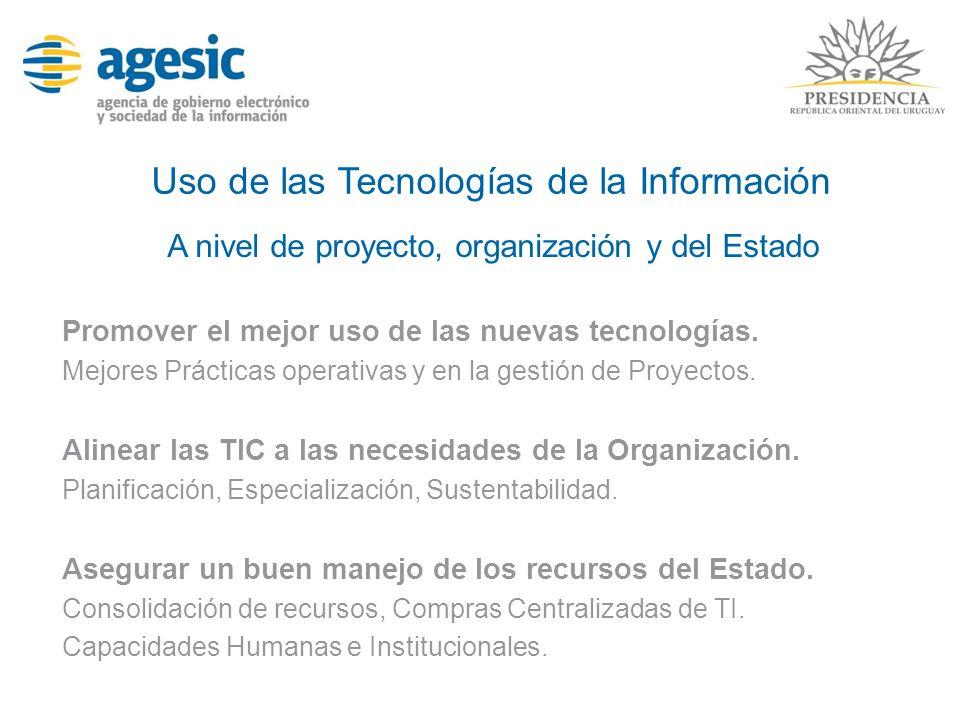 Uso de las Tecnologías de la Información
