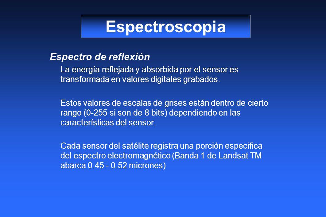 Espectroscopia Espectro de reflexión