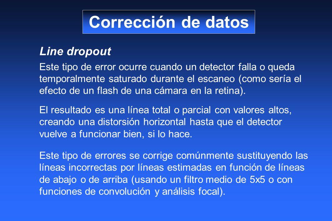 Corrección de datos Line dropout