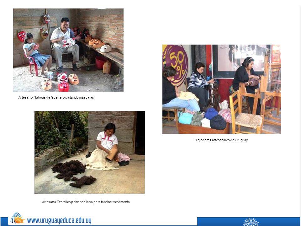Tejedoras artesanales de Uruguay
