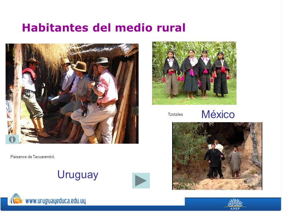 Habitantes del medio rural