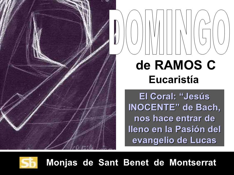 de RAMOS C Eucaristía DOMINGO