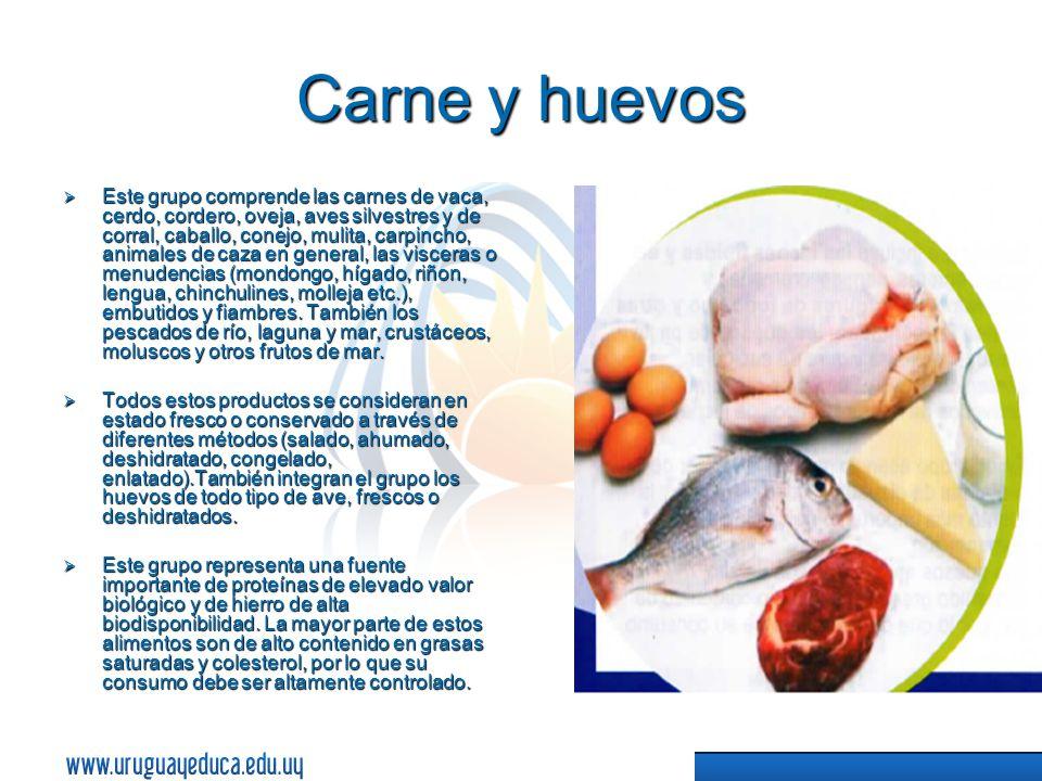 Carne y huevos