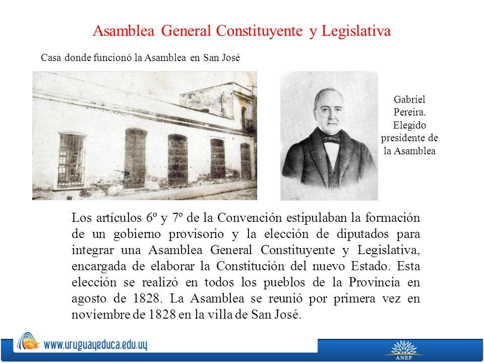 Asamblea General Constituyente y Legislativa