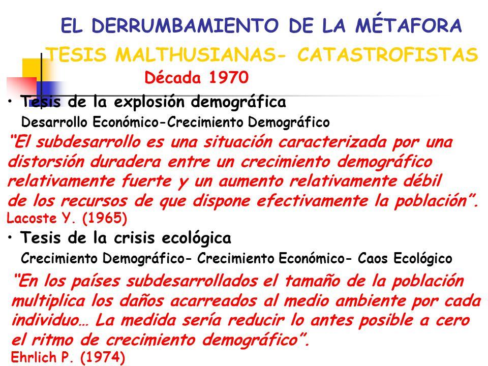 EL DERRUMBAMIENTO DE LA MÉTAFORA