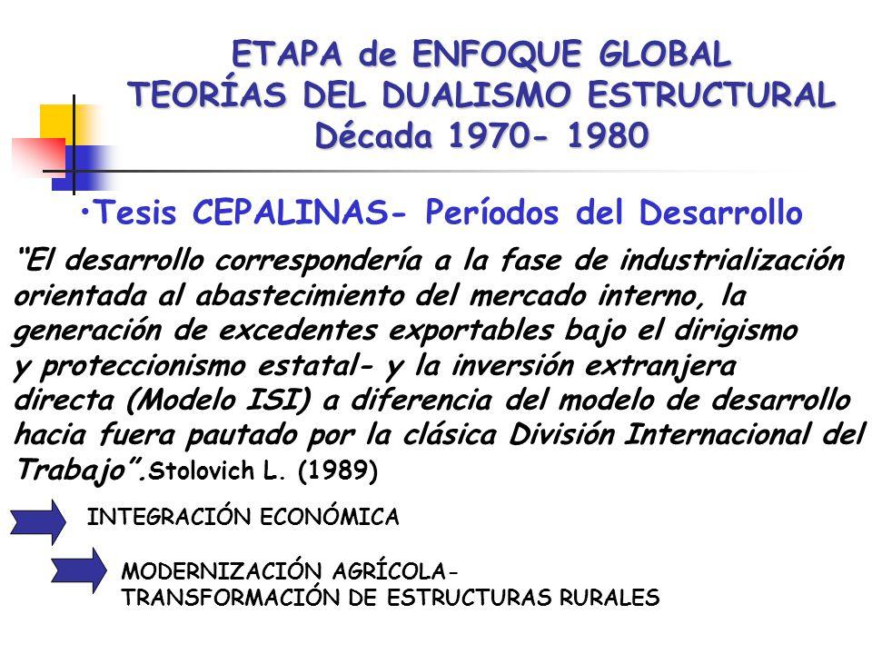 Tesis CEPALINAS- Períodos del Desarrollo