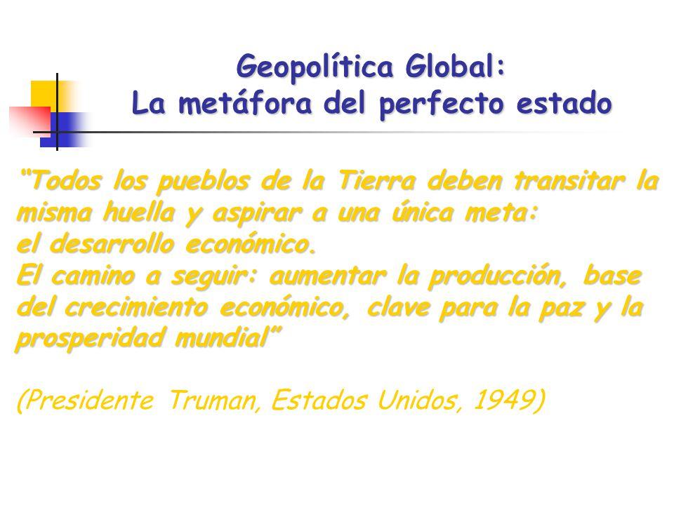 Geopolítica Global: La metáfora del perfecto estado