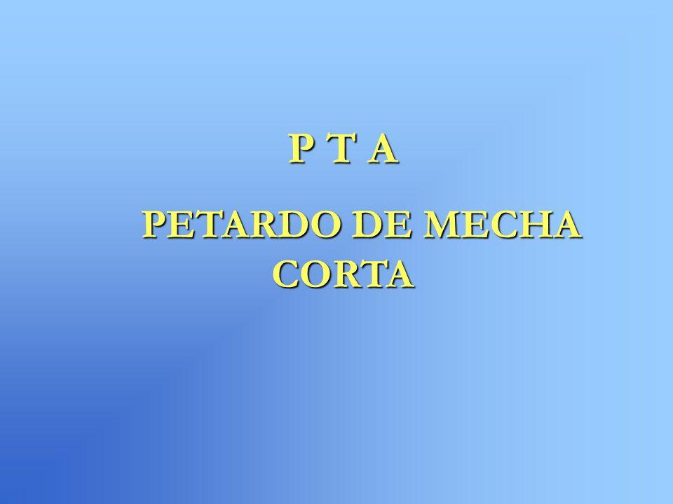 P T A PETARDO DE MECHA CORTA