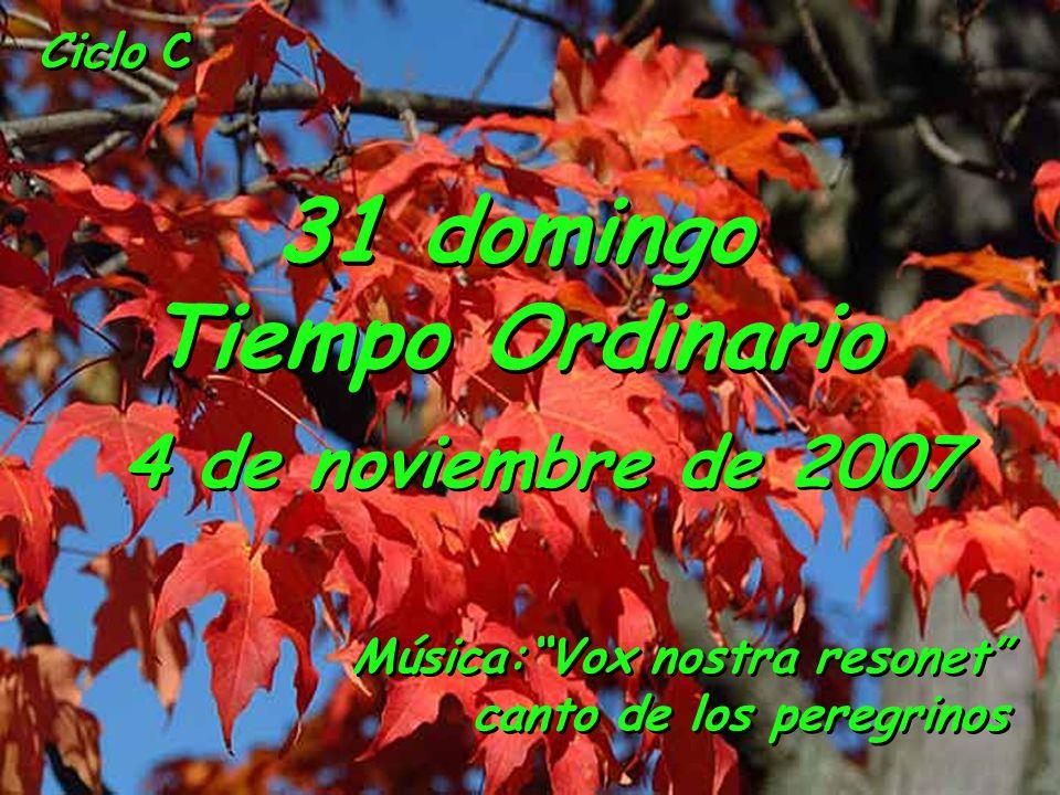 31 domingo Tiempo Ordinario