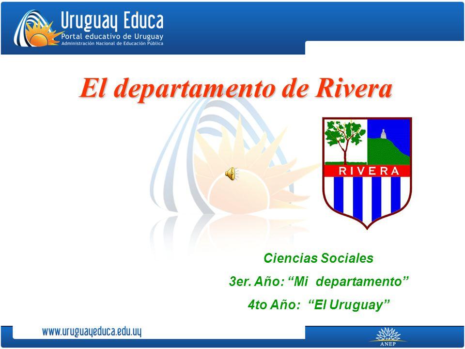 El departamento de Rivera