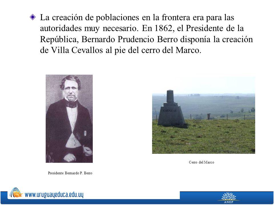 Presidente Bernardo P. Berro