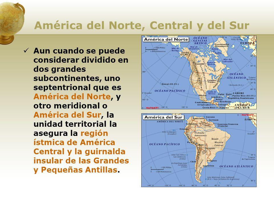 América del Norte, Central y del Sur
