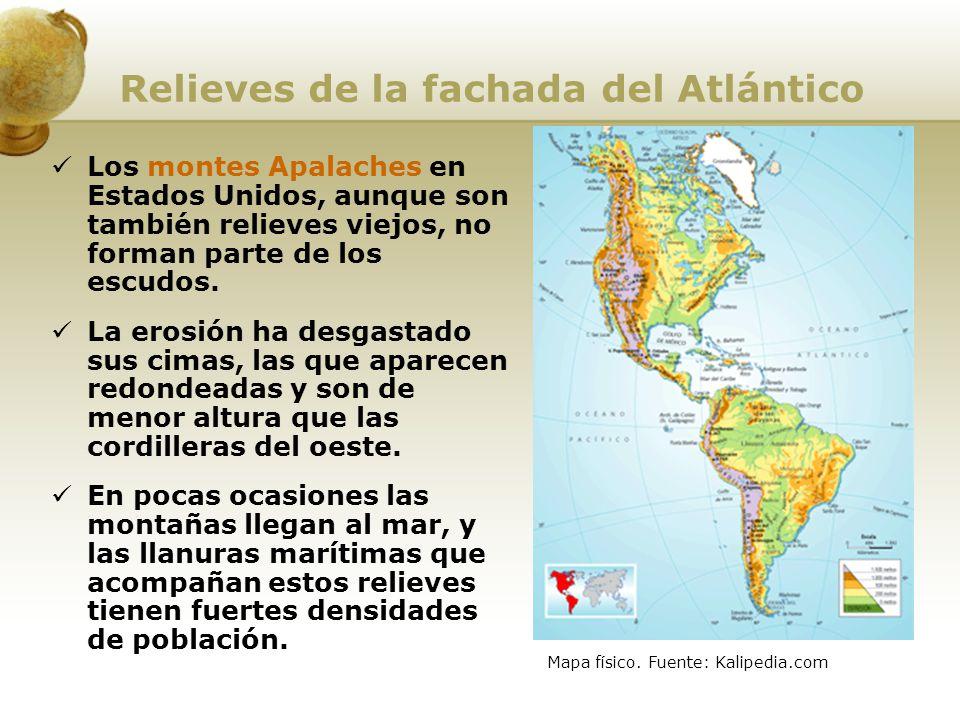 Relieves de la fachada del Atlántico