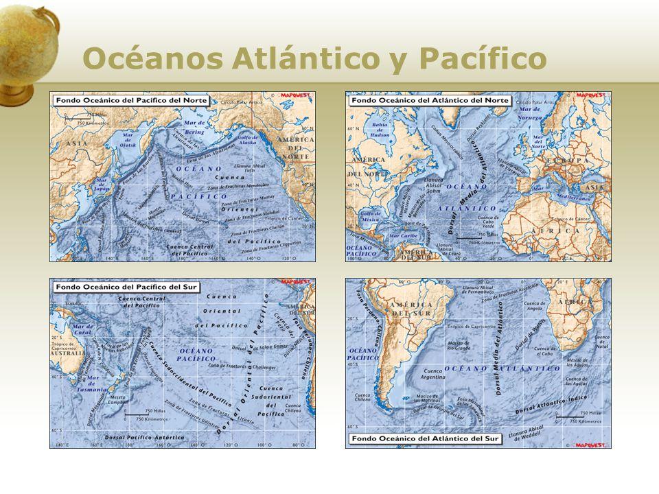 Océanos Atlántico y Pacífico