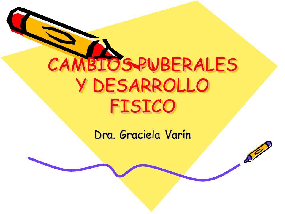 CAMBIOS PUBERALES Y DESARROLLO FISICO