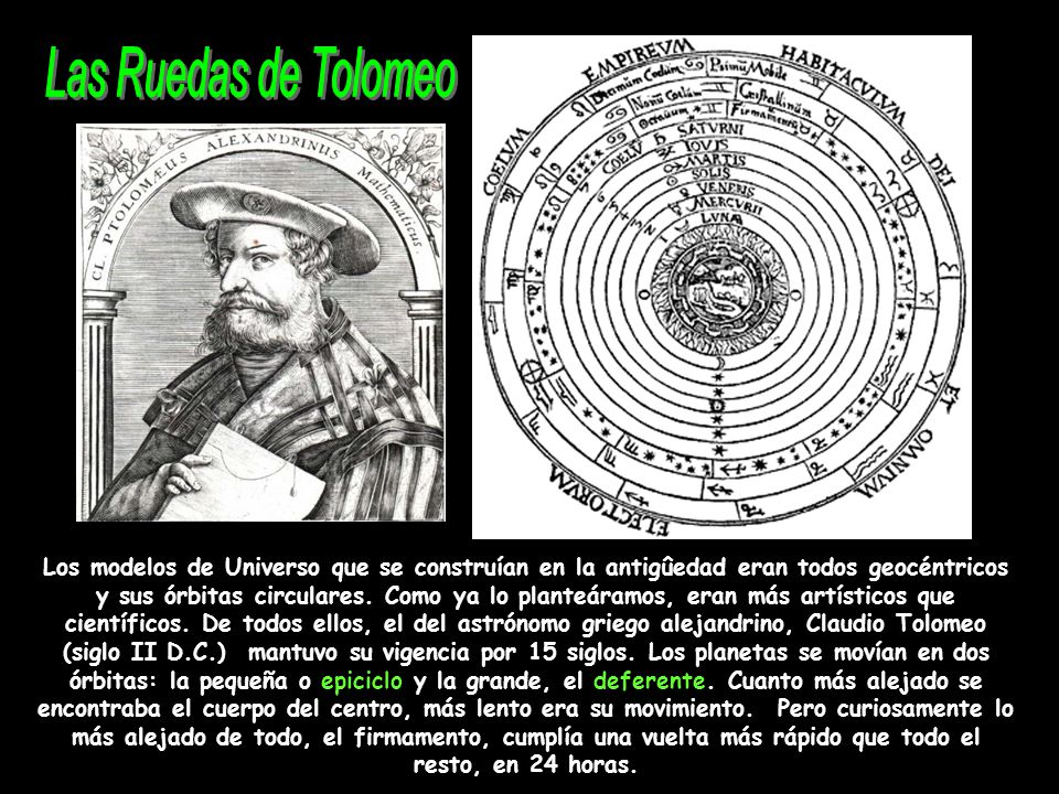 Las Ruedas de Tolomeo