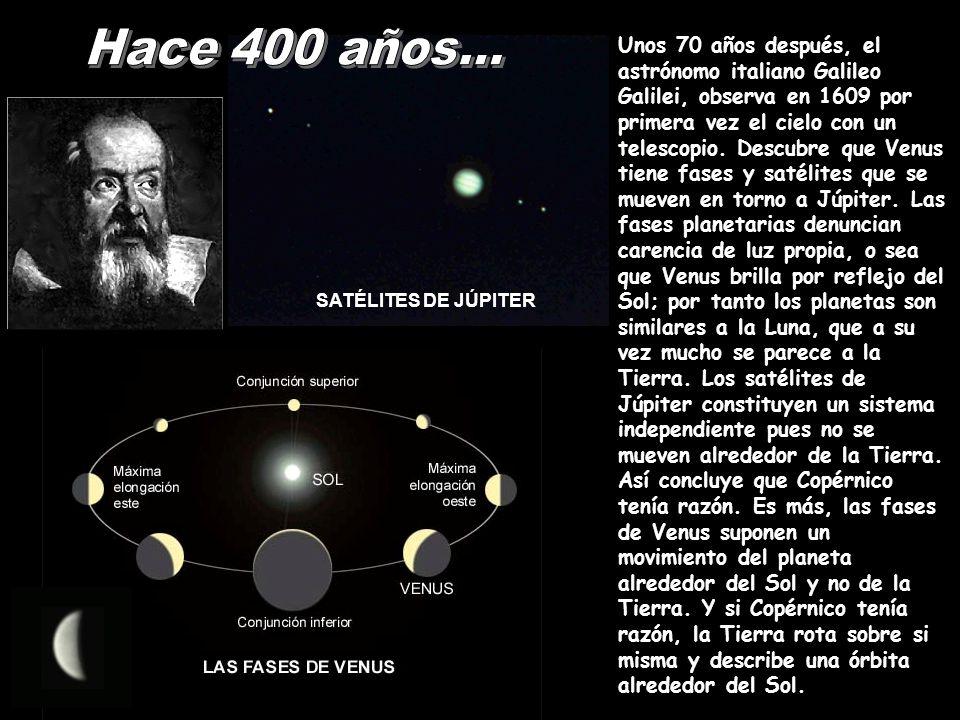 Hace 400 años...