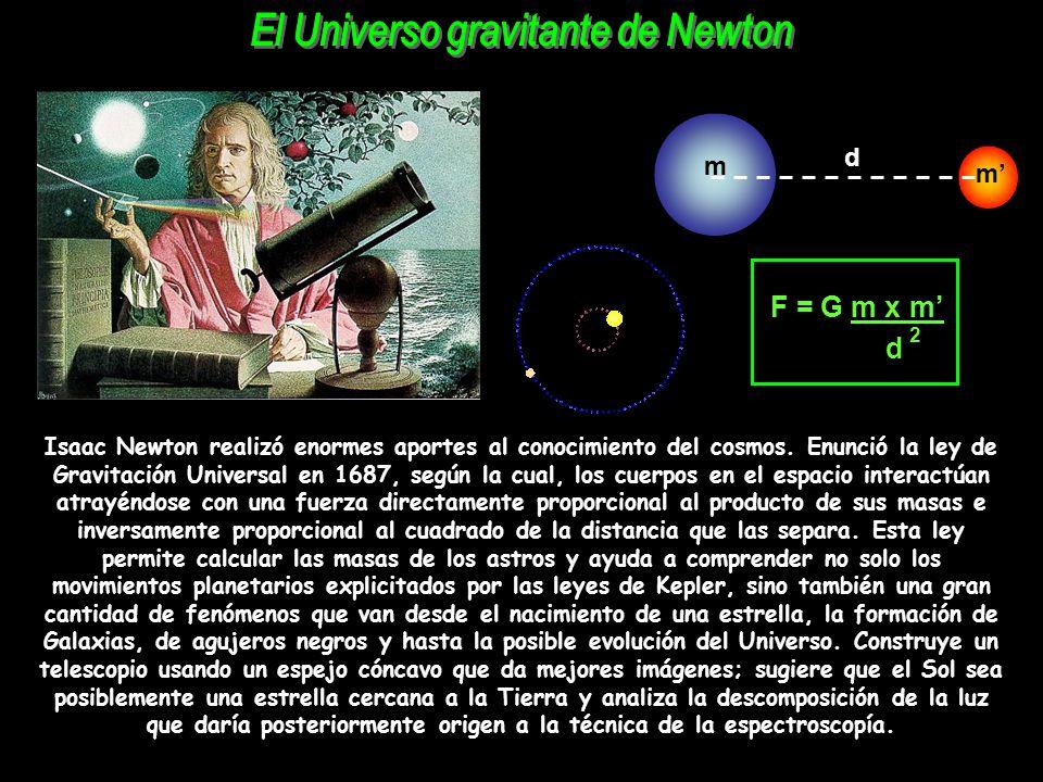 El Universo gravitante de Newton