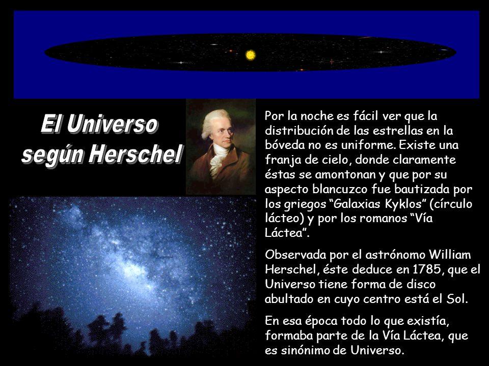 El Universo según Herschel
