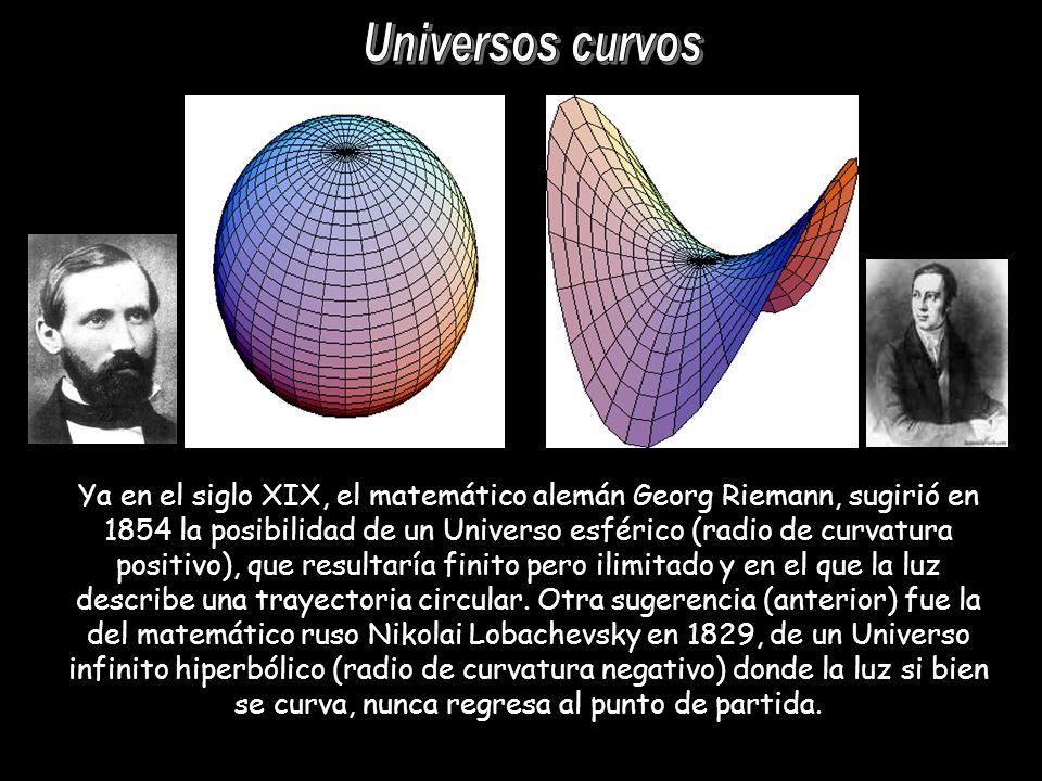 Universos curvos