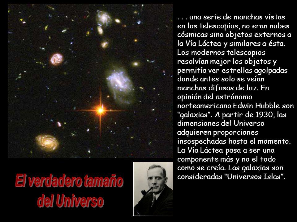 El verdadero tamaño del Universo