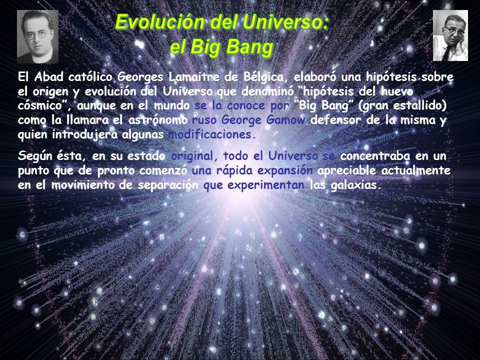 Evolución del Universo: