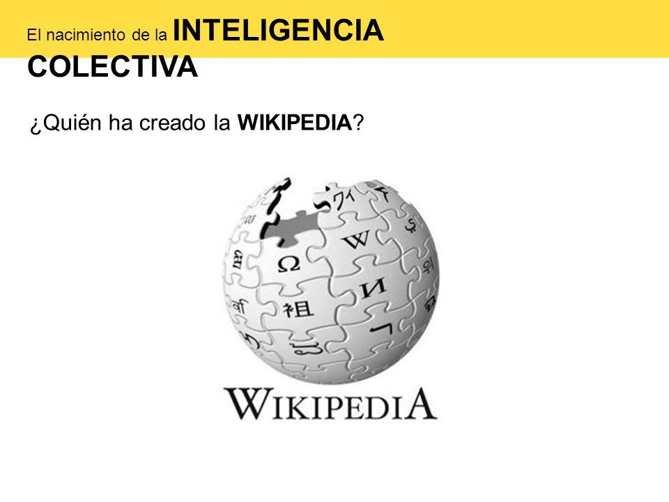 ¿Quién ha creado la WIKIPEDIA