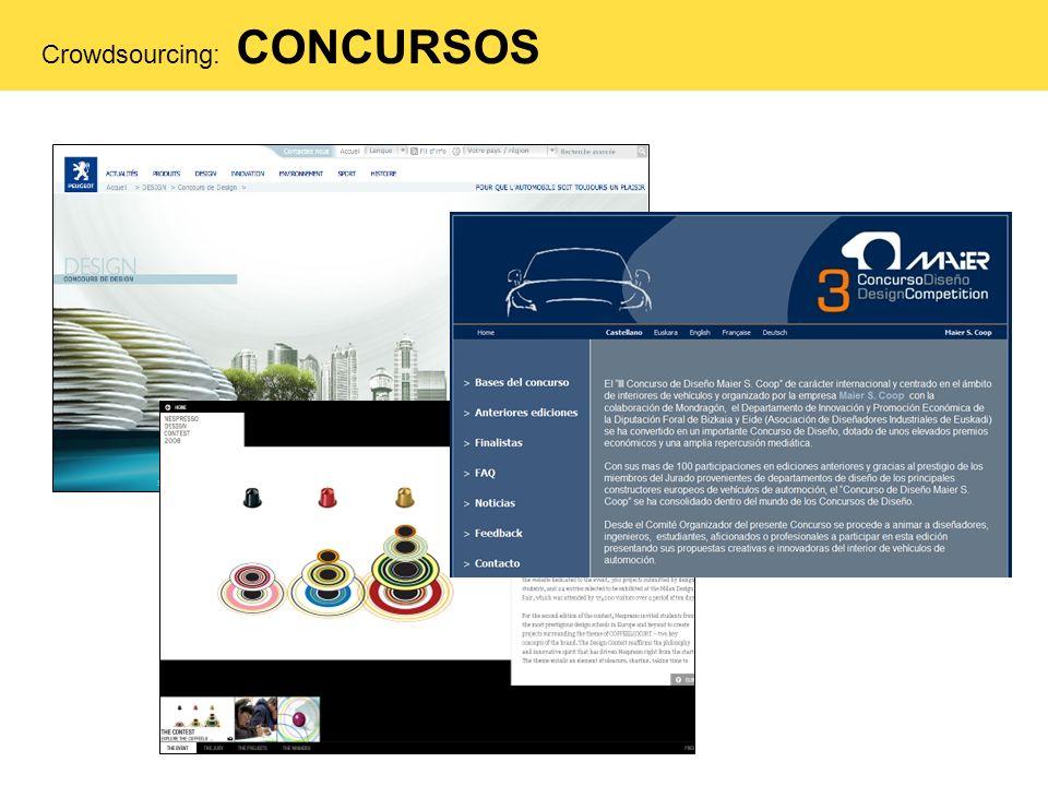 Crowdsourcing: CONCURSOS