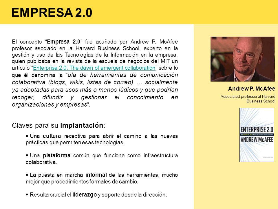 EMPRESA 2.0 Claves para su implantación: