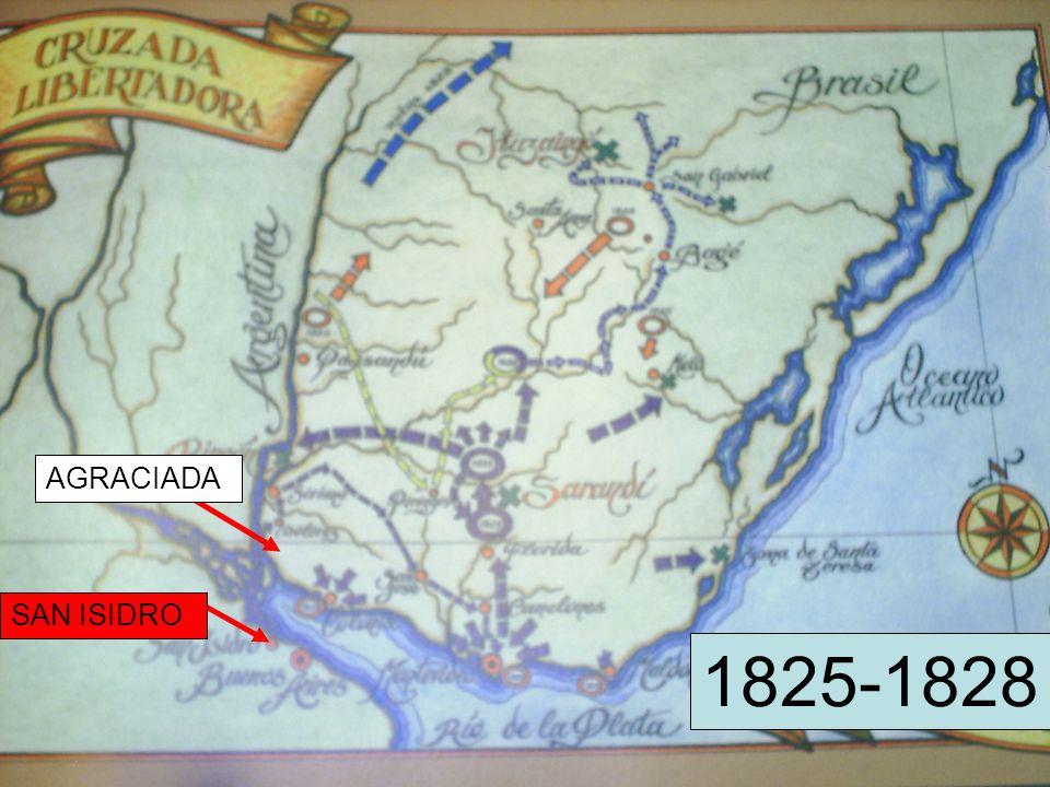 AGRACIADA SAN ISIDRO 1825-1828