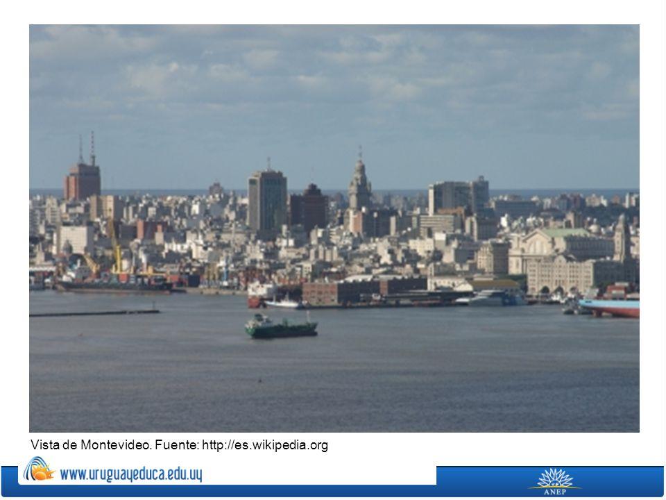 Vista de Montevideo. Fuente: http://es.wikipedia.org