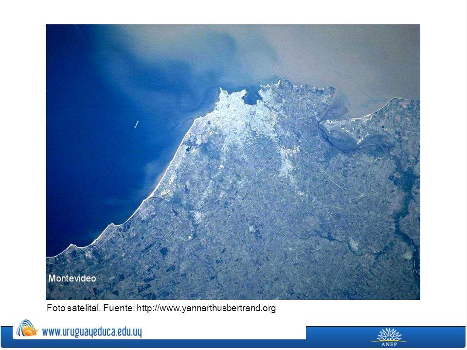 Foto satelital. Fuente: http://www.yannarthusbertrand.org
