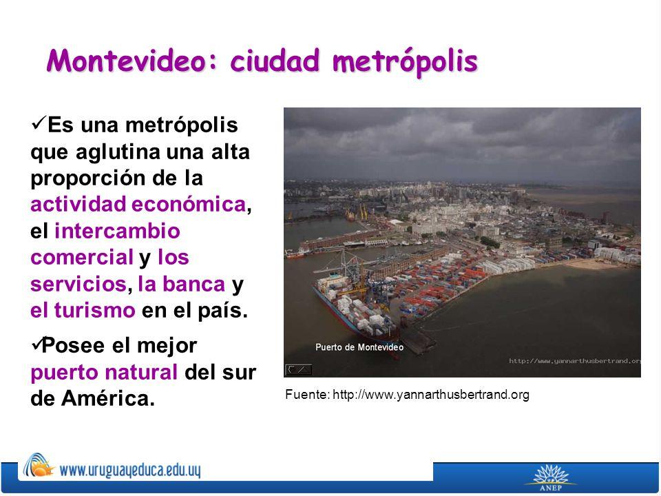 Montevideo: ciudad metrópolis
