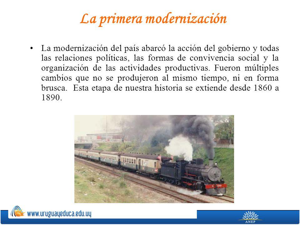 La primera modernización