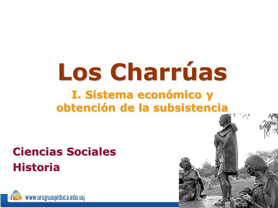 Los Charrúas I. Sistema económico y obtención de la subsistencia