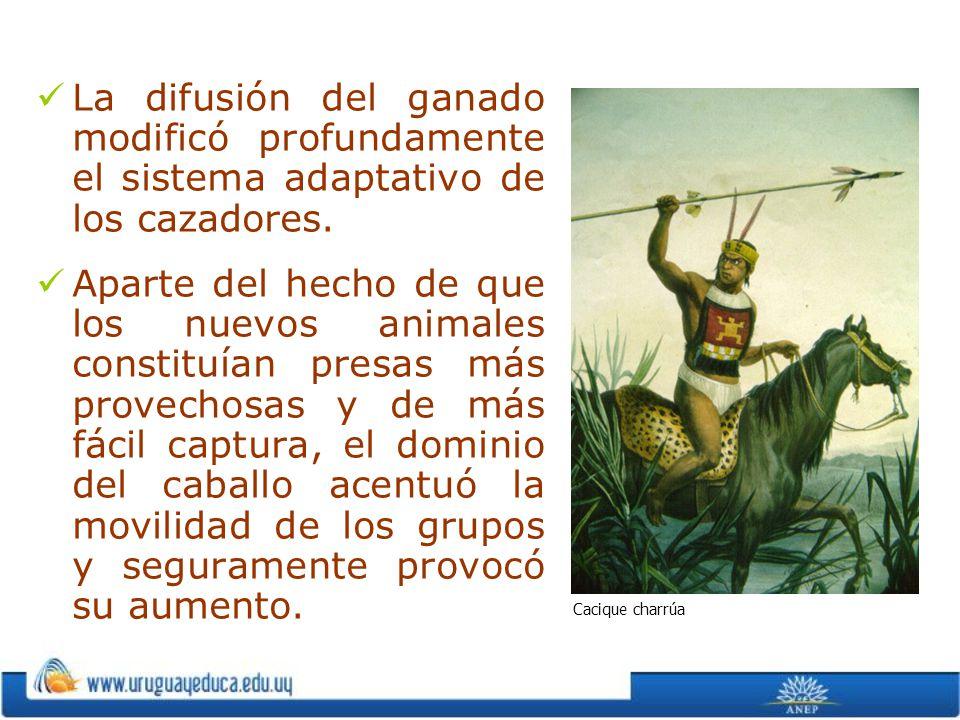 La difusión del ganado modificó profundamente el sistema adaptativo de los cazadores.