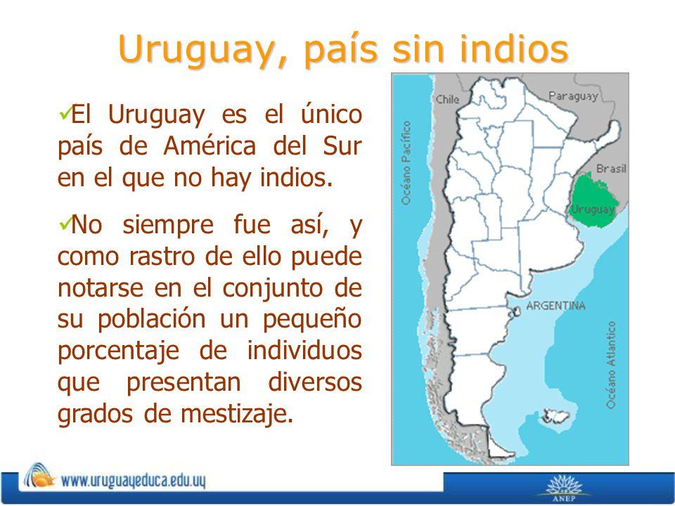 Uruguay, país sin indios